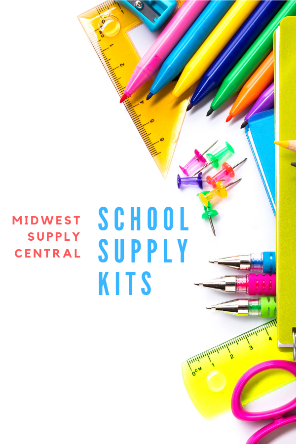 Midwest Supply Center School Supply Kits. Simplifying back to school shopping for parents, students & teachers!